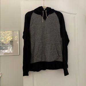 vintage jcrew fleece hoodie